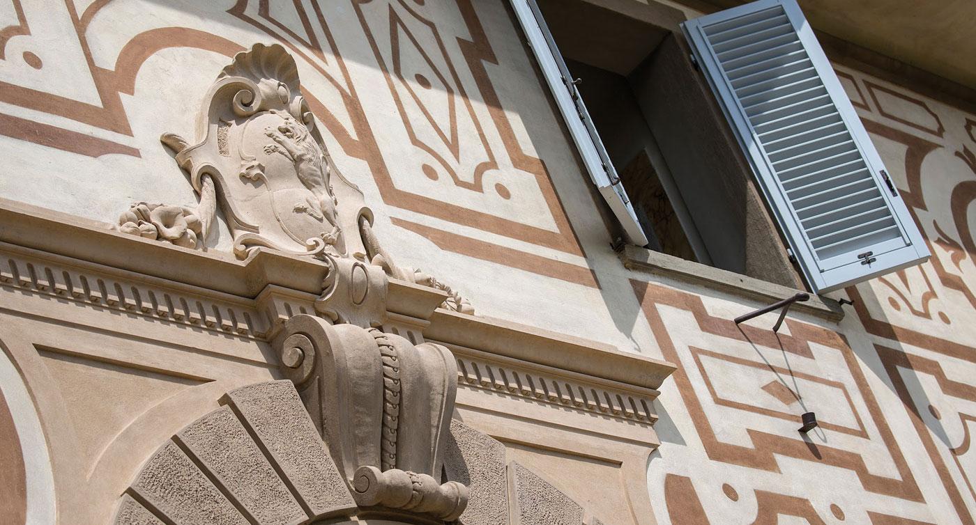 Villa capponi conti capponi for Appartamenti design firenze